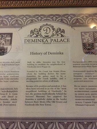Deminka Palace: History of the hotel