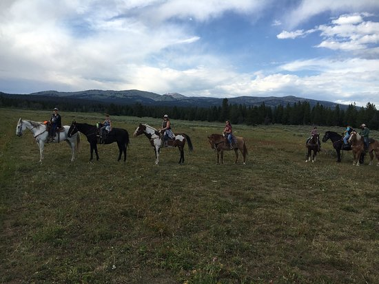 Island Park, ID: Yellowstone Horses - Eagle Ridge Ranch