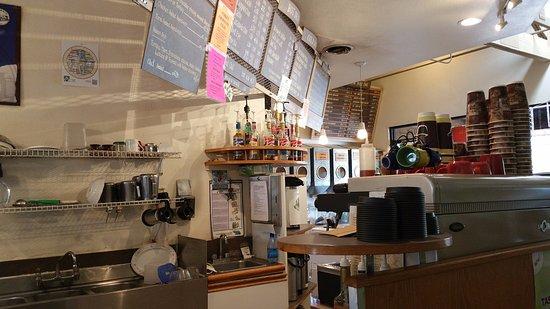 Newbury Park, CA: Counter Area at Conejo Coffee