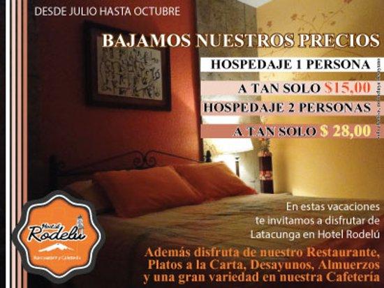 Latacunga, Ecuador: Promoción válida hasta octubre de 2016
