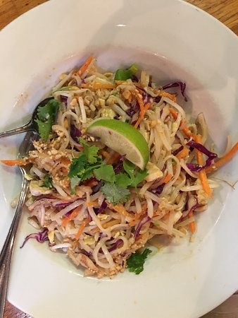Lawrence, KS: Newhouse chicken salad and fresh Pad Thai! Fresh and so delicious!