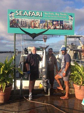 Seafari Fishing Charters : 28kg Wahoo