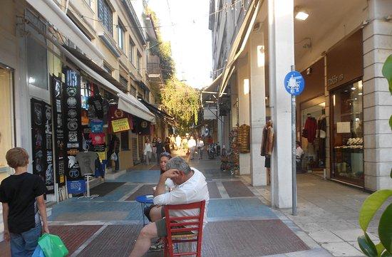 Voula, Griechenland: uliczki Aten