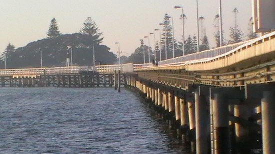 Sojourn on Gale: Busselton Jetty looking toward foreshore