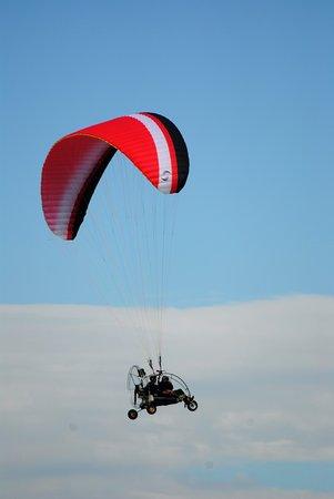 Sala, Sweden: Paramotroflygning