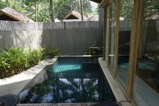 Renaissance Phuket Resort & Spa: Our personal plunge pool - Created romantic memories.