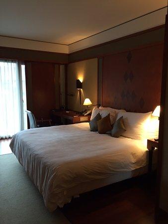 The Sukhothai Bangkok: really comfy bed