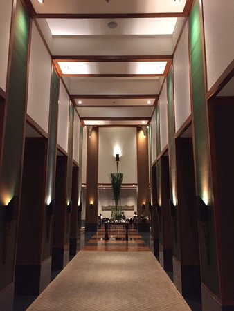 The Sukhothai Bangkok: impressive lobby