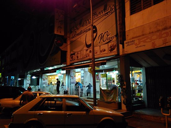 Wau Restaurant: view from the street
