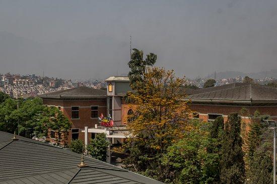 โรงแรมคราวน์ พลาซา กาฐมัณฑุ: View from Room of the Casino