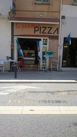 Cogolin, France : Speedy Pizza