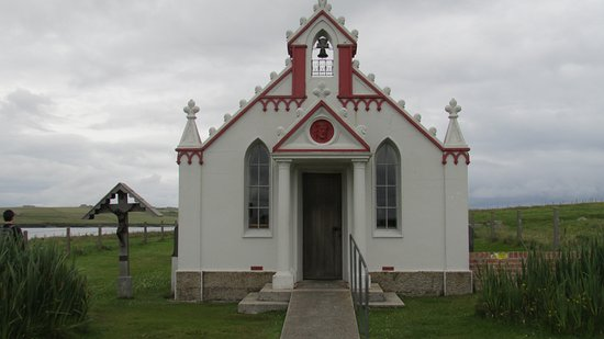 John O'Groats, UK: Italian chapel