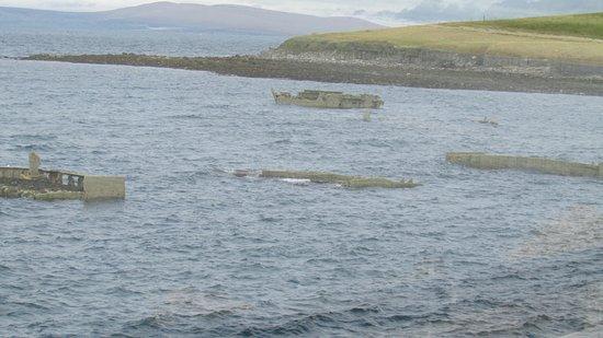 John O'Groats, UK: Scapa Flow