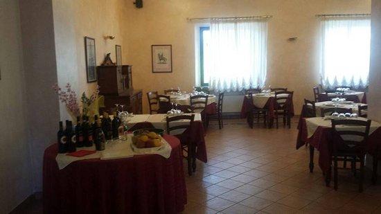 Soncino, Italia: la sala ristorante