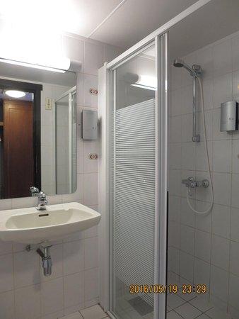 Geilo, Norveç: Kinda clamp shower cubicle