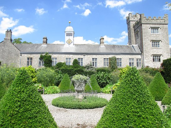 Kendal, UK: Levens Hall from the gardens.