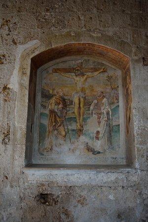Sovana, Italy: Uno degli affreschi