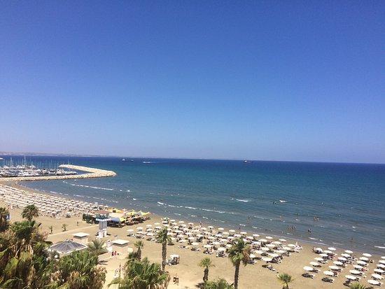 Krasas Beach Apts: View from the room
