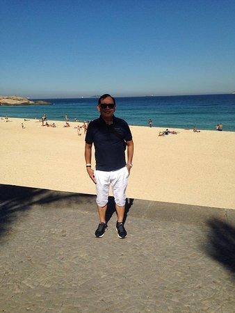 "Atlantis Copacabana: This is the beach area""Copocabana Beach. White sand and clean."