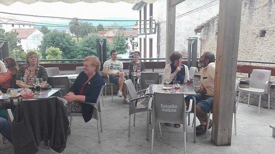 Colombres, Spania: Terraza magnífica