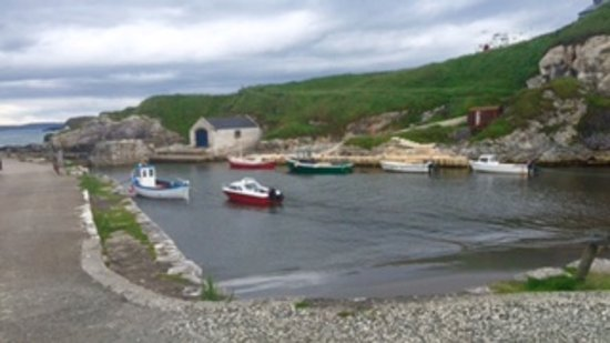 Carnside Guest House: Ballantoy Harbour nearby