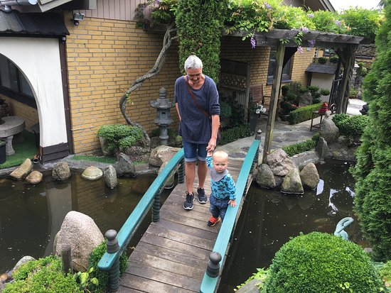 Struer, Danimarka: Hyggelig lille have.