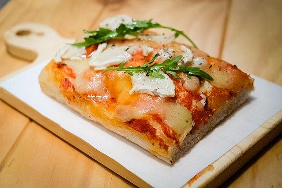 Slice of Capra pizza