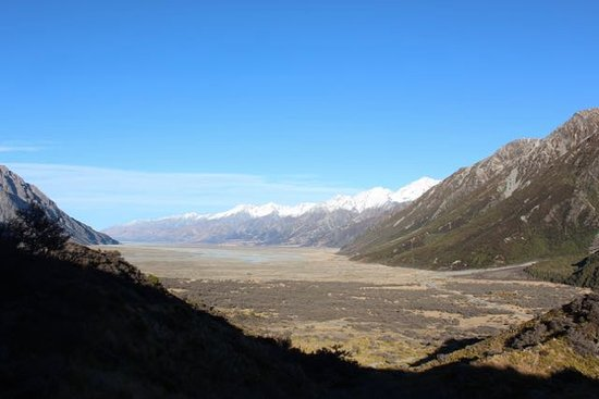 Mt. Cook Village, Nieuw-Zeeland: View from top