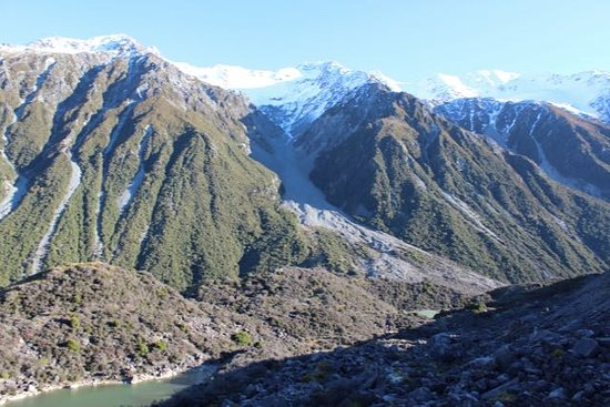 Mt. Cook Village, New Zealand: view