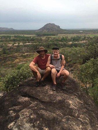 Territorio del Nord, Australia: Father and son