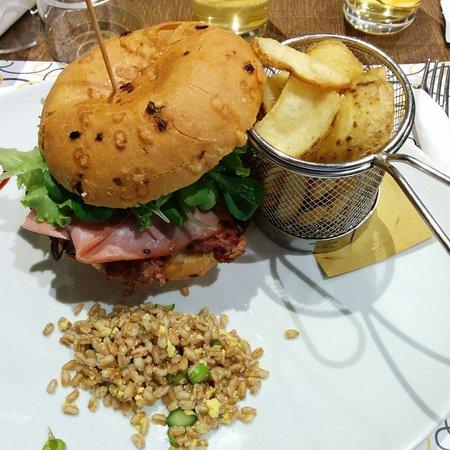Montorfano, Italien: Panino e contorno!!! Super!!!!!!