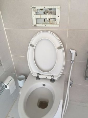 Canyon Boutique Hotel: TOILET NOT WORKING