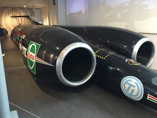 Thrust SSC, or Thrust supersonic car, is a British jet-propelled car ...
