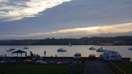 Y Felinheli, UK: The view from our table