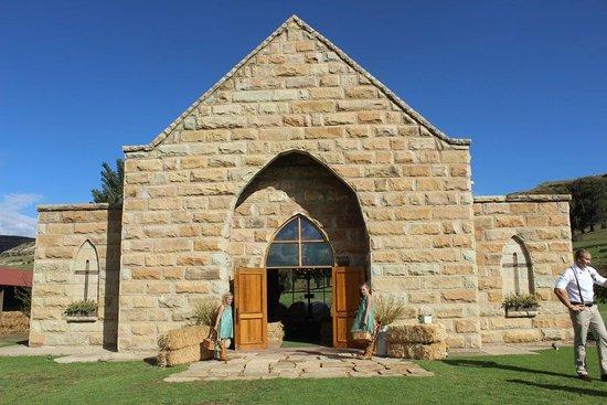 Fouriesburg, Sudáfrica: Church at Oranje