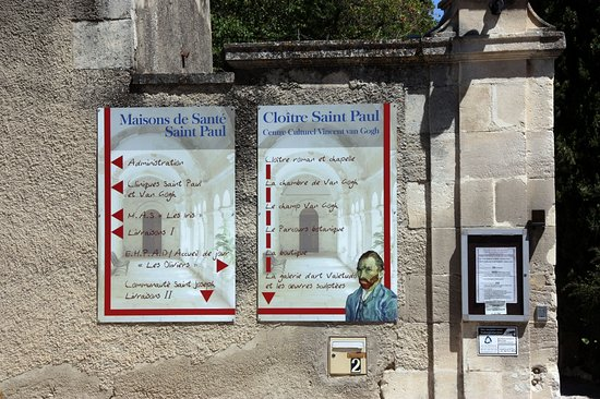 Saint-Remy-de-Provence, Frankrike: Claustre Str Paul