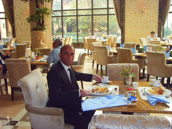 Chateau Star River Pudong Shanghai: IN THE BREAKFAST AREA
