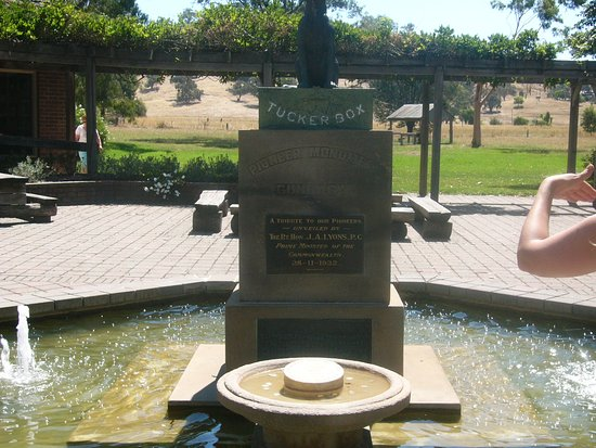 Gundagai, Australia: statue