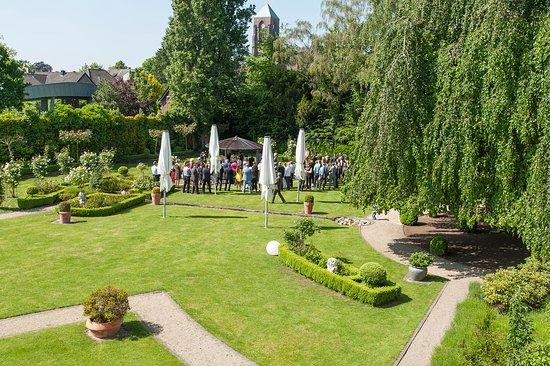 Bocholt, Allemagne : Garten hinten