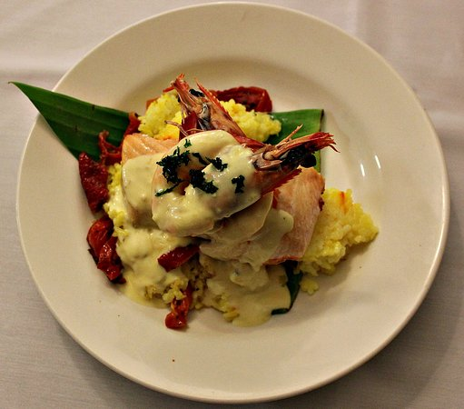 Toowoomba, Australia: Salmon with Moreton Bay Bug Risotto