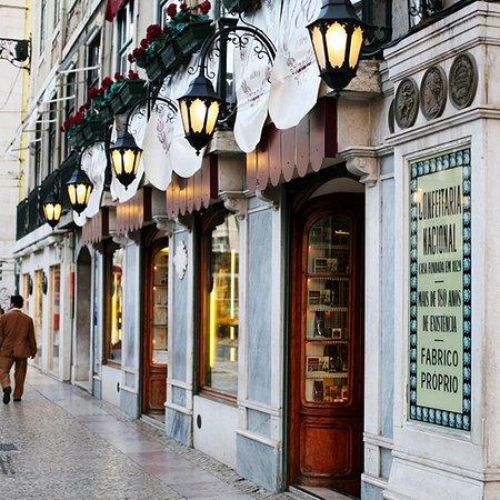 Photo of Cafe Confeitaria Nacional at Praca Da Figueira 18b, Lisbon 1100-241, Portugal