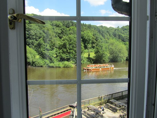 Symonds Yat, UK: View from our window