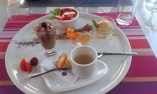 Camelas, Frankrike: Délicieux café gourmand !