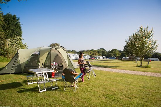 Goonhavern, UK: camping