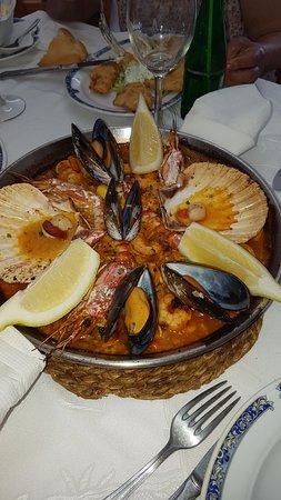 Restaurante La Zoca SC. : Que rica paella...
