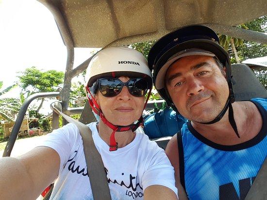 Samui Namuang ATV Park: Me and wifey....