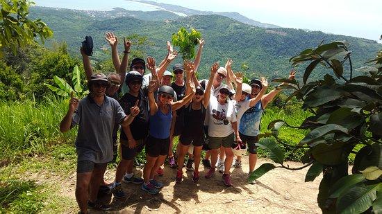 Samui Namuang ATV Park: The whole clan...