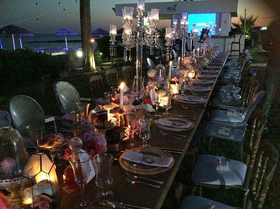 Nissaki Ayias Theklas Bar Restaurant: Special night