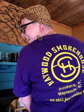 Waynesville, Carolina del Norte: Our waitress