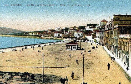منطقة طنجة تطوان, المغرب: La Plage de Tanger à travers le temps.